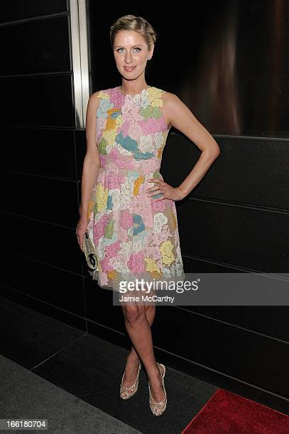 Nicky Hilton attends the New Yorker's For Children's 10th Anniversary A Fool's Fete Spring Dance at Mandarin Oriental Hotel on April 9 2013 in New...