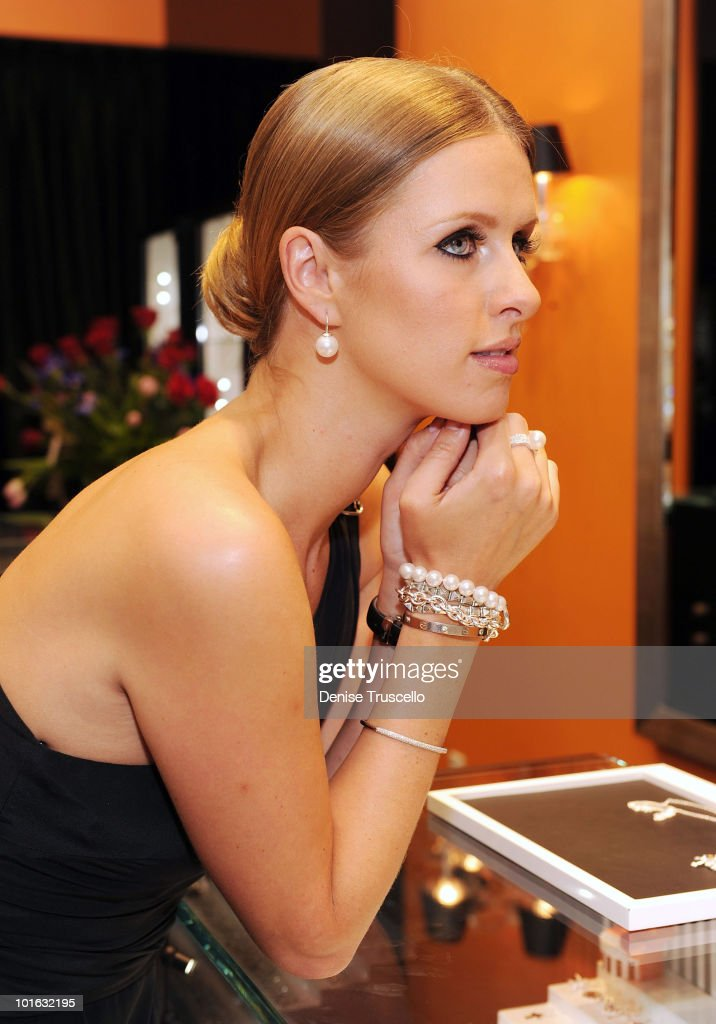Nicky Hilton attends the opening of the Thomas Sabo store opening at Grand Canal Shoppes Venetian Hotel and Casino Resort on June 4, 2010 in Las Vegas, Nevada.