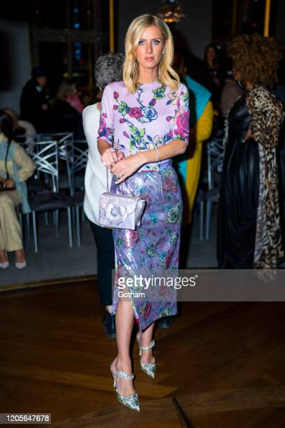 Nicky Hilton attends the Prabal Gurung fashion show during New York Fashion Week: The Shows at the Rainbow Room on February 11, 2020 in New York City.