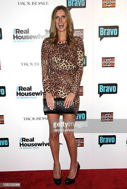 Nicky Hilton attends The Real Housewives of Beverly Hills series premiere party at Trousdale on October 11 2010 in West Hollywood California