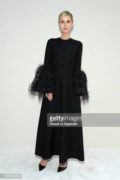 Nicky Hilton attends the Valentino show as part of the Paris Fashion Week Womenswear Fall/Winter 2019/2020 on March 03 2019 in Paris France