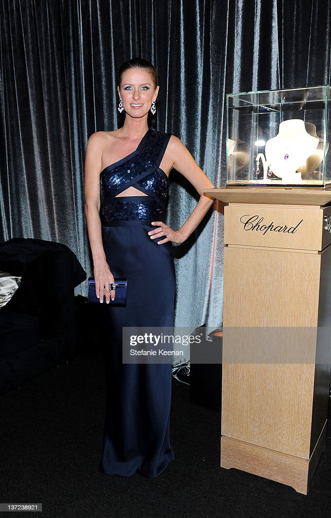 Nicky Hilton attends The Weinstein Company Celebration of the 2012 Golden Globes presented by Chopard held at The Beverly Hilton hotel on January 15, 2012 in Beverly Hills, California.