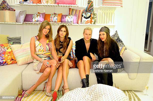 Nicky Hilton Dasha Zhukova Olympia Scarry and Tatiana Santo Domingo attend CLASSY by Derek Blasberg Book Launch on May 6 2010 in Beverly Hills...