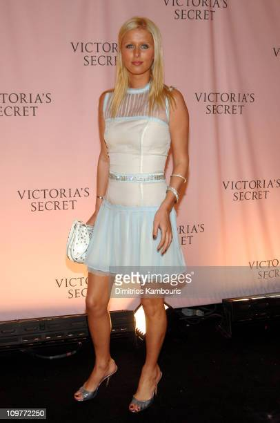 Nicky Hilton during 10th Victoria's Secret Fashion Show Arrivals at The New York State Armory in New York City New York United States