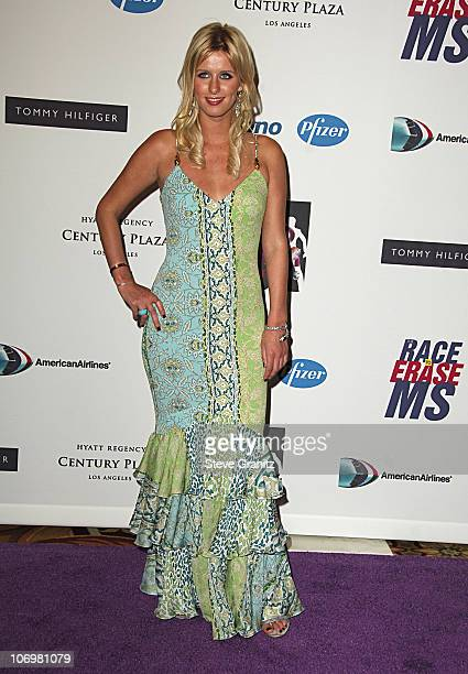 Nicky Hilton during 13th Annual Race to Erase MS Sponsored by Nancy Davis and Tommy Hilfiger - Arrivals at Hyatt Regency Century Plaza in Century...