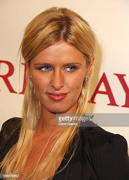 Nicky Hilton during Brandon Davis and Italian Clothing Brand Replay Celebrate the Opening of Their Los Angeles Store Arrivals at Falcon in Los...