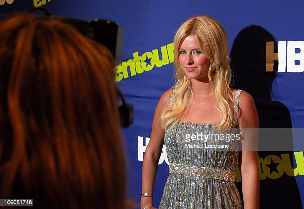Nicky Hilton during Entourage Season Three New York Premiere Arrivals at Skirball Center for the Performing Arts at NYU in New York City New York...