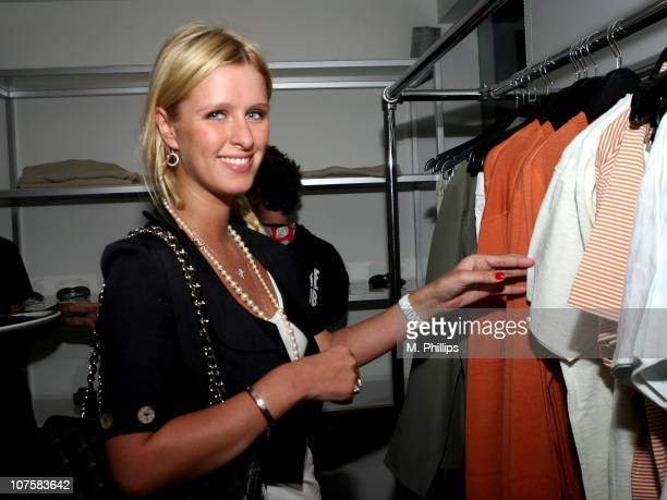 Nicky Hilton during GQ / Calvin Klein Celebrity Poker Tournament Benefiting Peace Games - Calvin Klein Gift Lounge at Private Residence in Los...