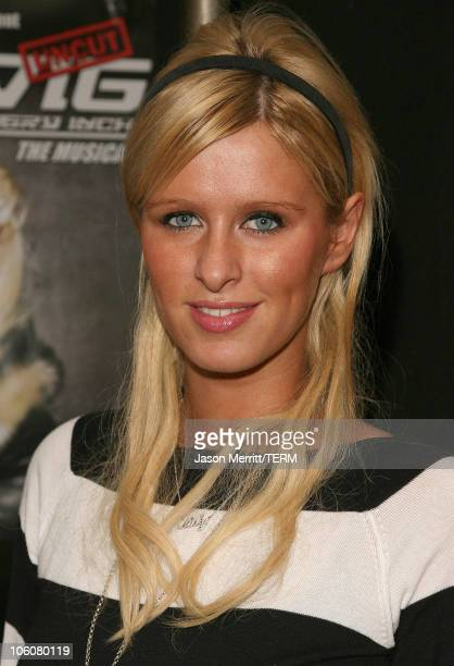 Nicky Hilton during Hedwig and The Angry Inch at The Roxy Theatre Arrivals and Show at The Roxy Theatre in Hollywood California United States