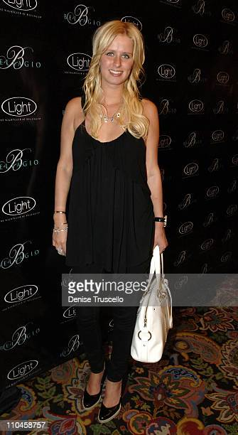 Nicky Hilton during LIGHT Nightclub Four Year Anniversary VIP Red Carpet Reception at Caramel Lounge at The Bellagio Hotel and Casino Resort at...