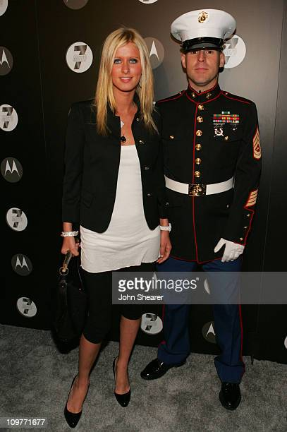 Nicky Hilton during Motorola's Seventh Anniversary Party to Benefit Toys for Tots Red Carpet at American Legion in Los Angeles California United...