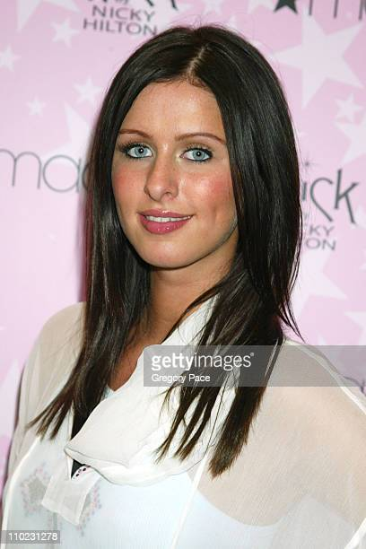 Nicky Hilton during Nicky Hilton Launches Her New Clothing Line CHICK by Nicky Hilton at Macy's Herald Square in New York City New York United States