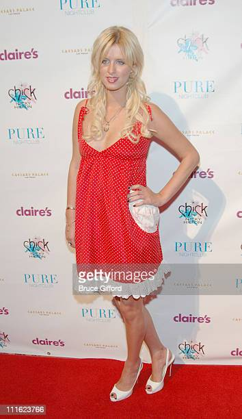 Nicky Hilton during Pure Nightclub Celebrates the Launch of Nicky Hilton's New Jewelry Line Exclusively For Claire's June 2 2006 at Pure in Las Vegas...