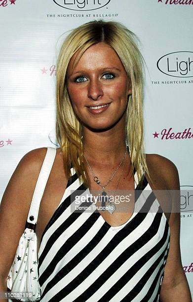 Nicky Hilton during Richie Rich and Traver Rains Host Heatherette Party at Light Nightclub in The Bellagio Hotel and Casino Resort at Light Nightclub...