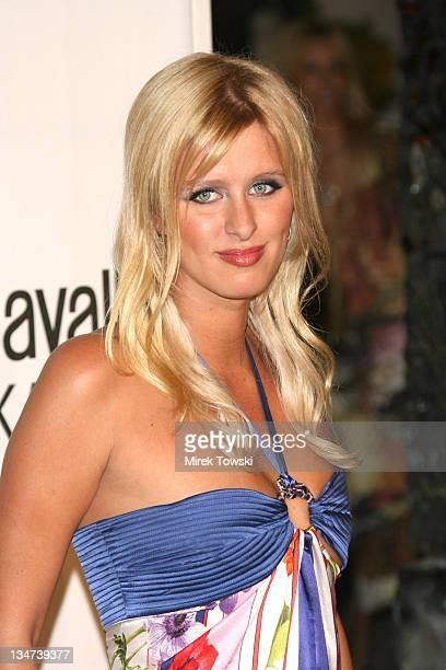 Nicky Hilton during Robert Cavalli Vodka brand launch party at Private Residence in Holmby Hills in Holmby Hills California United States