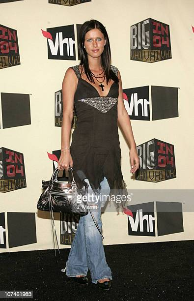 Nicky Hilton during VH1 Big in '04 Press Room at Shrine Auditorium in Los Angeles California United States