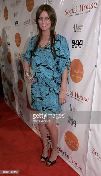 Nicky Hilton during Wilmer Valderrama Hosts the 2nd Anniversary of Tangerine Red Carpet at Tangerine in Las Vegas California United States