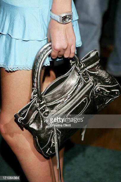 Nicky Hilton handbag during Nicky Hilton Launches her New Clothing Line Chick by Nicky Hilton in Las Vegas, Nevada, United States.