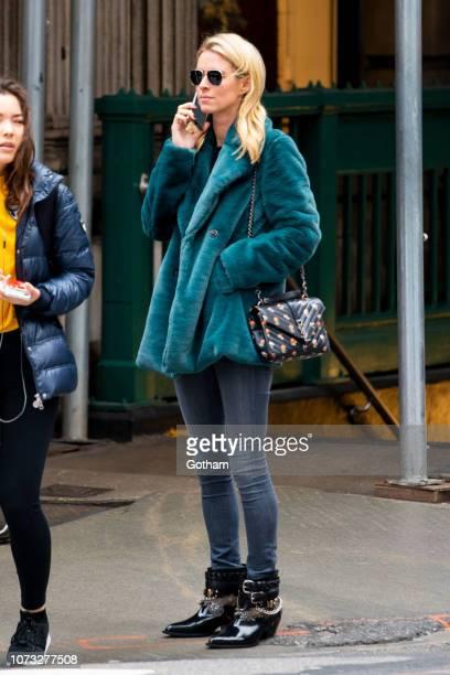 Nicky Hilton is seen in SoHo on November 27 2018 in New York City