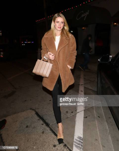 Nicky Hilton is seen on December 30 2018 in Los Angeles California