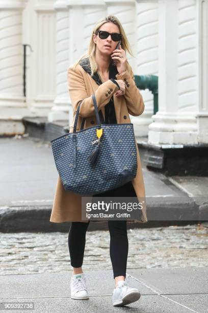 Nicky Hilton is seen on January 23 2018 in New York City