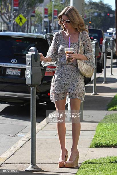 Nicky Hilton is seen on January 25 2012 in Los Angeles California