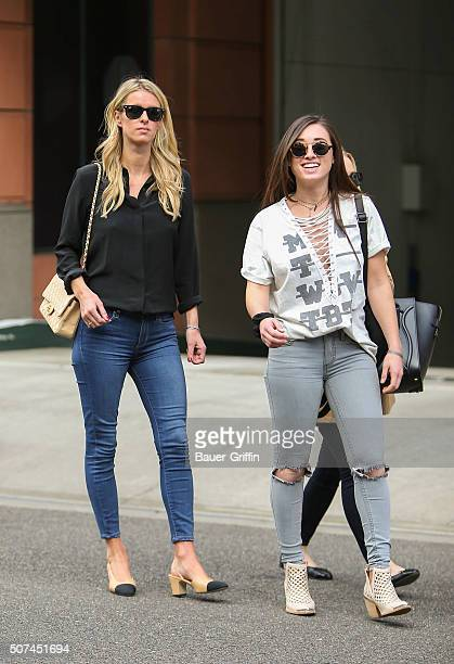 Nicky Hilton is seen on January 29 2016 in Los Angeles California