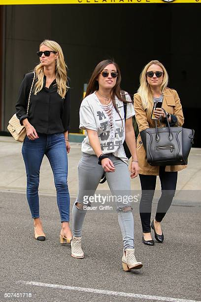 Nicky Hilton is seen on January 29, 2016 in Los Angeles, California.