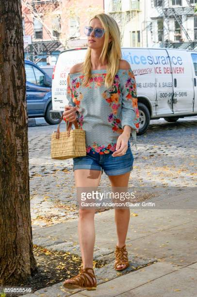 Nicky Hilton is seen on October 10 2017 in New York City