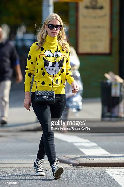 Nicky Hilton is seen on October 20, 2014 in New York City.