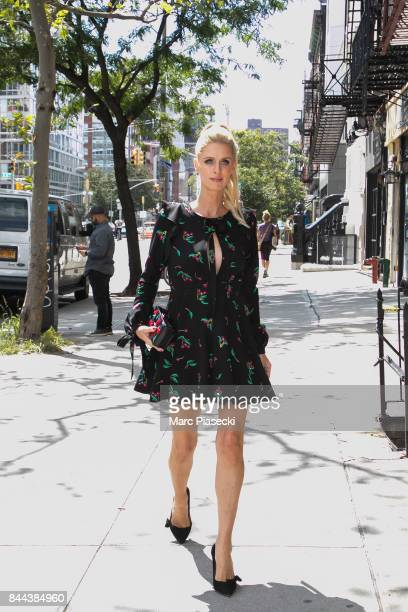 Nicky Hilton is seen on September 8 2017 in New York City
