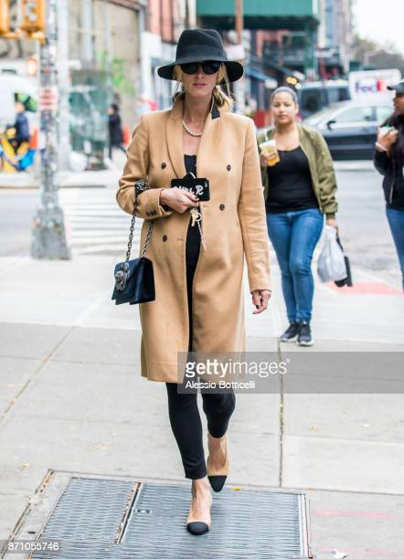 Nicky Hilton is seen walking in East Village on November 6 2017 in New York New York