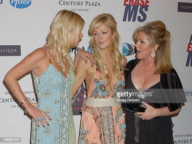 Nicky Hilton Kathy Hilton and Paris Hilton during 13th Annual Race to Erase MS Sponsored by Nancy Davis and Tommy Hilfiger Arrivals at Hyatt Regency...