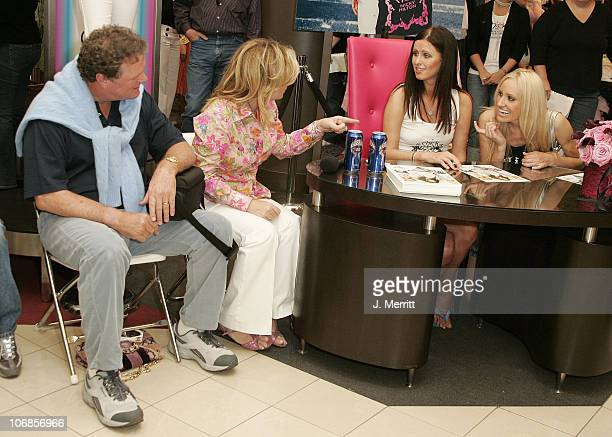 Nicky Hilton, Kathy Hilton, and Rick Hilton during Chick By Nicky Hilton to be Unveiled at Nordstroms South Coast Plaza in the Last Stop of her U.S....