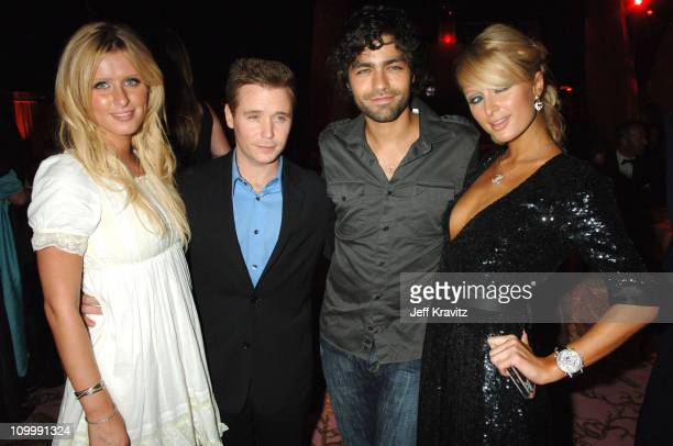 Nicky Hilton Kevin Connolly Adrian Grenier and Paris Hilton