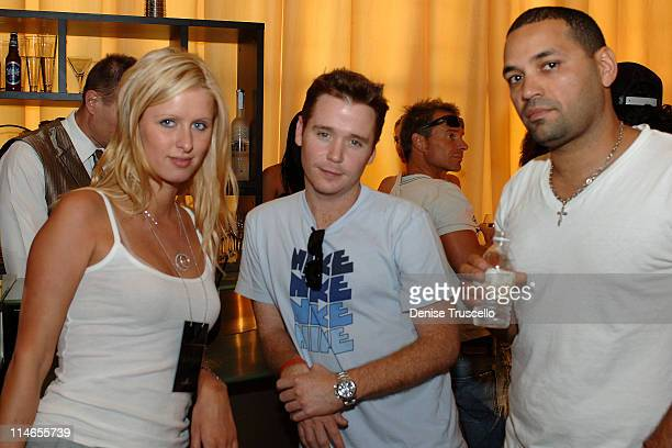 Nicky Hilton, Kevin Connolly and Vinny during The Light Group Hosts Bob Mancari's All In Weekend Poker Tournement at The Bellagio Hotel and Casino...