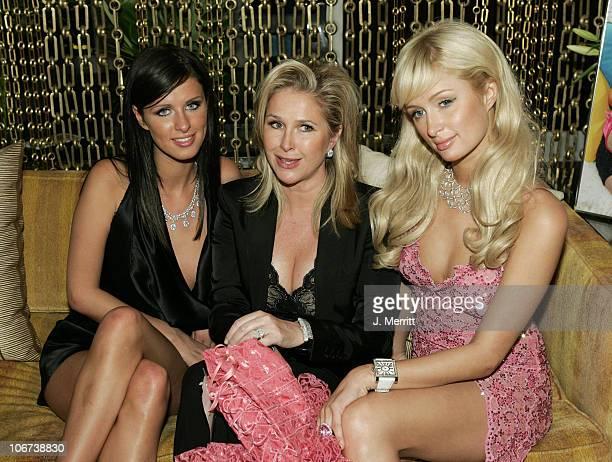 Nicky Hilton, Mother Kathy Hilton, and Paris Hilton