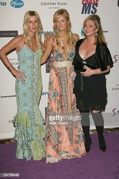 Nicky Hilton Paris Hilton and Kathy Hilton during Disco Fever to Erase MS 13th Annual Race to Erase MS at Hyatt Regency Century Plaza Hotel in...