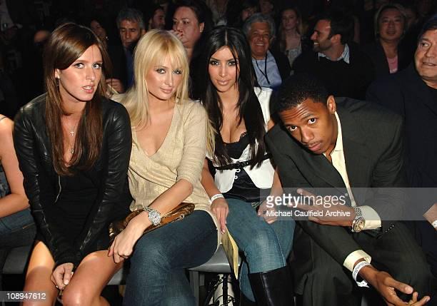 Nicky Hilton, Paris Hilton, Kim Kardashian and Nick Cannon