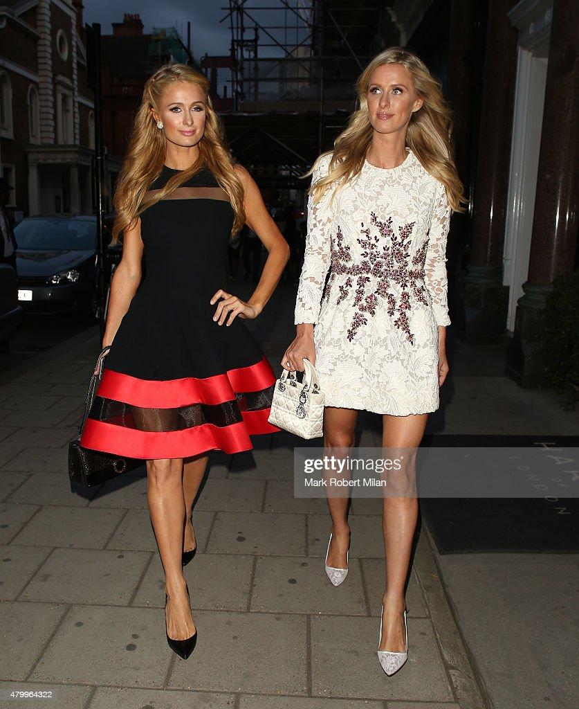 London Celebrity Sightings -  July 8, 2015