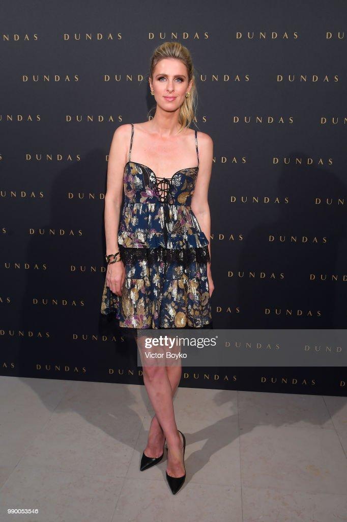 FRA: Dundas : Guests - Paris Fashion Week - Haute Couture Fall Winter 2018/2019