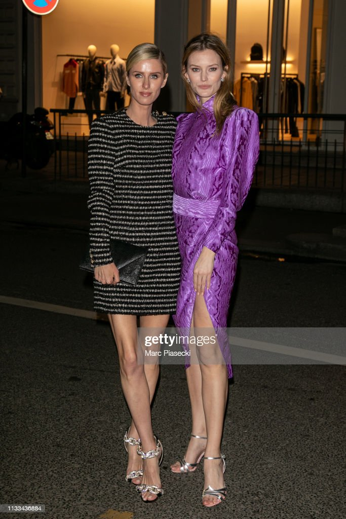 """American In Paris"" Cocktail Party Outside Arrivals - Paris Fashion Week Womenswear Fall/Winter 2019/2020 : News Photo"