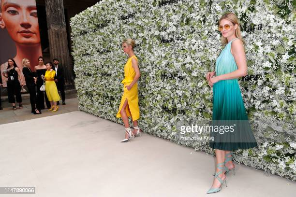 Nicky Hilton Rothschild and Charlott Cordes during the Max Mara Resort 2020 Fashion Show at Neues Museum on June 3 2019 in Berlin Germany
