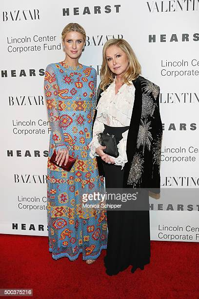 Nicky Hilton Rothschild and Kathy Hilton attend 'An Evening Honoring Valentino' Lincoln Center Corporate Fund Gala Inside Arrivals at Alice Tully...