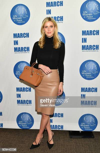 Nicky Hilton Rothschild attend International Women's Day United Nations Awards Luncheon on March 8 2018 in New York City