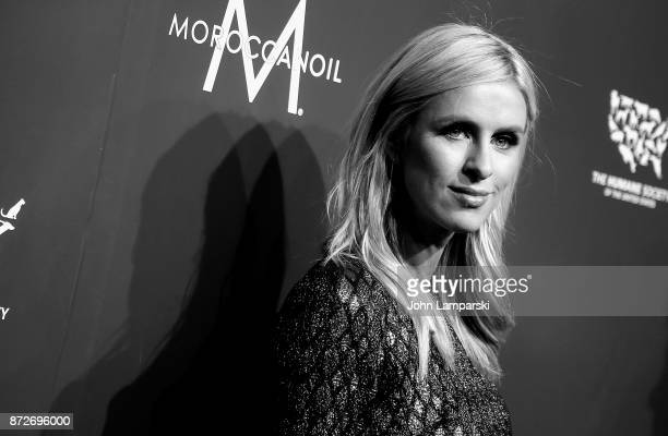 Nicky Hilton Rothschild attends 2017 Humane Society of The United States to the Rescue New York Gala at Cipriani 42nd Street on November 10 2017 in...