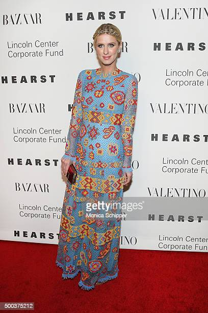 Nicky Hilton Rothschild attends 'An Evening Honoring Valentino' Lincoln Center Corporate Fund Gala Inside Arrivals at Alice Tully Hall at Lincoln...