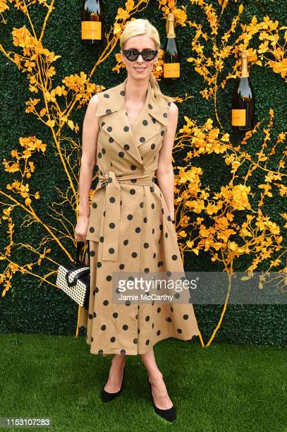 Nicky Hilton Rothschild attends the 12th Annual Veuve Clicquot Polo Classic at Liberty State Park on June 01 2019 in Jersey City New Jersey