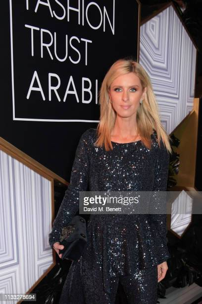 Nicky Hilton Rothschild attends the Fashion Trust Arabia Prize awards ceremony on March 28, 2019 in Doha, Qatar.