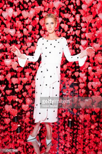 Nicky Hilton Rothschild attends the Love Ball in aid of the Naked Heart Foundation and Al Shafallah at Museum of Islamic Art on March 29 2019 in Doha...